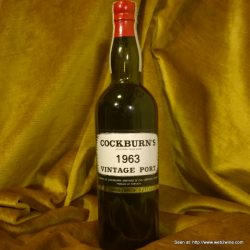 Cockburn's Vintage Port 1963