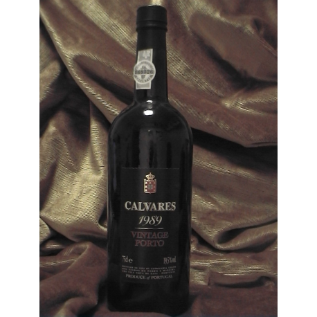Calvares Vintage Port 1989