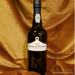 Quinta do Vesuvio Vintage Port 2000