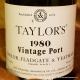 Taylor's Vintage Port 1980