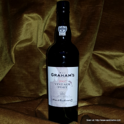 Graham's Vintage Port 2007 (Bad label)