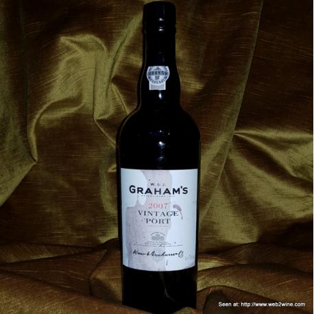 Graham's Vintage Port 2007 (Label dårlig)
