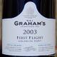 Graham's Colheita 2003 First Flight