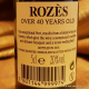 Rozez Over 40 Years Old Tawny