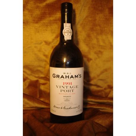Graham's Vintage Port 1991