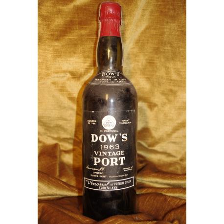 Dow's Vintage Port 1963